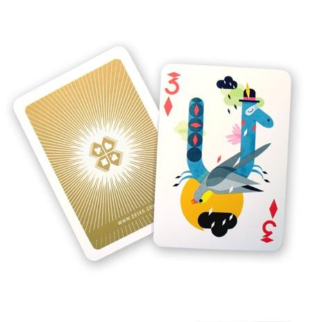 Spielkarte für 52Aces, 12ender