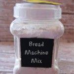 Homemade Bread Machine Mix