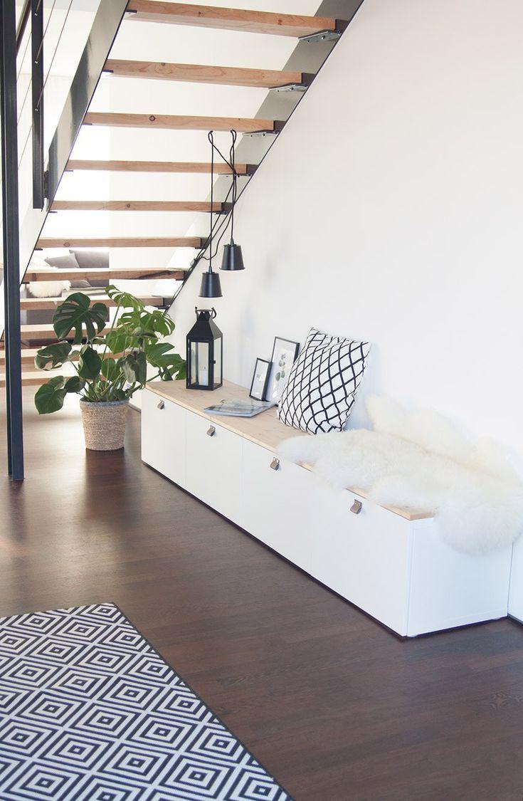 Ikea Hack Bench von Besta