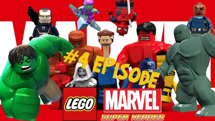 Lego Marvel 4 - New York Part 1 - Rock Up at the Lock Up Games Full Movie