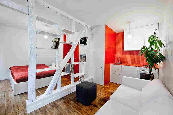 Крошечная квартира в Париже (25 кв.м.)