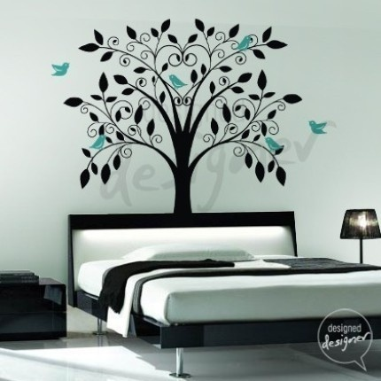 Best Asian Japanese Cherry Blossom Tree Vinyl Wall Art Decal - Vinyl wall decals asian