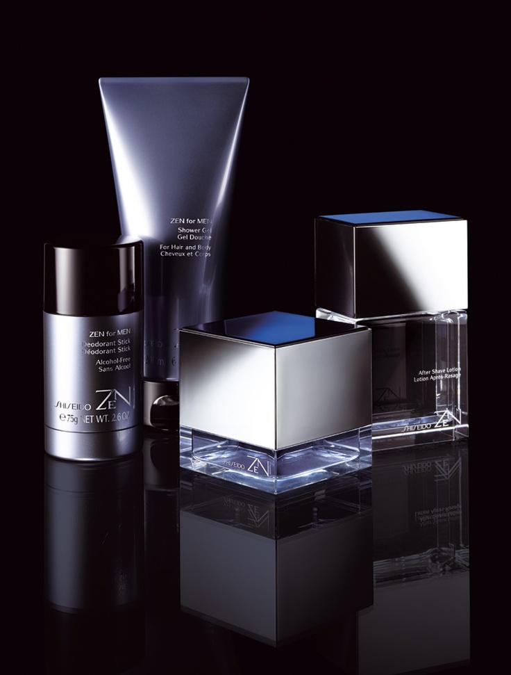 #Shiseido ZEN for MEN