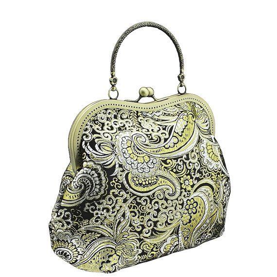 handbag in glamour formal or vintage style by FashionForWomen. https://www.etsy.com/listing/209505510/handbag-in-glamour-formal-or-vintage?ref=shop_home_active_6