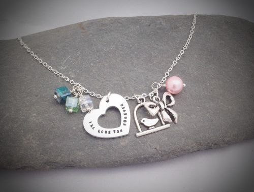 """Chic and Charming Necklace form my """"Love you Forever"""" range."""
