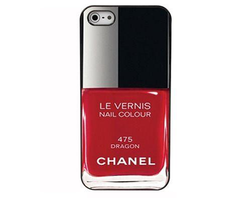 Chanel nail polish iPhone case via La Dauphine
