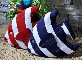 mediterranen Stil marine dekoration segelboot meeresfische kissen hause dekor kissen versandkostenfrei