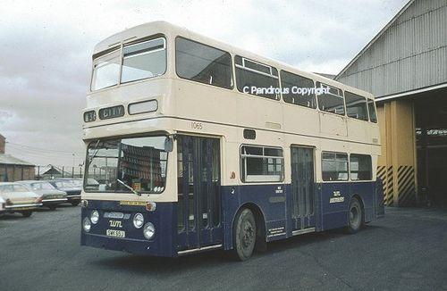 DAIMLER FLEETLINE - WM 1065 ex- Coventry