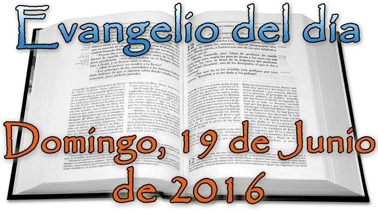 Evangelio del día (Domingo, 19 de Junio de 2016)