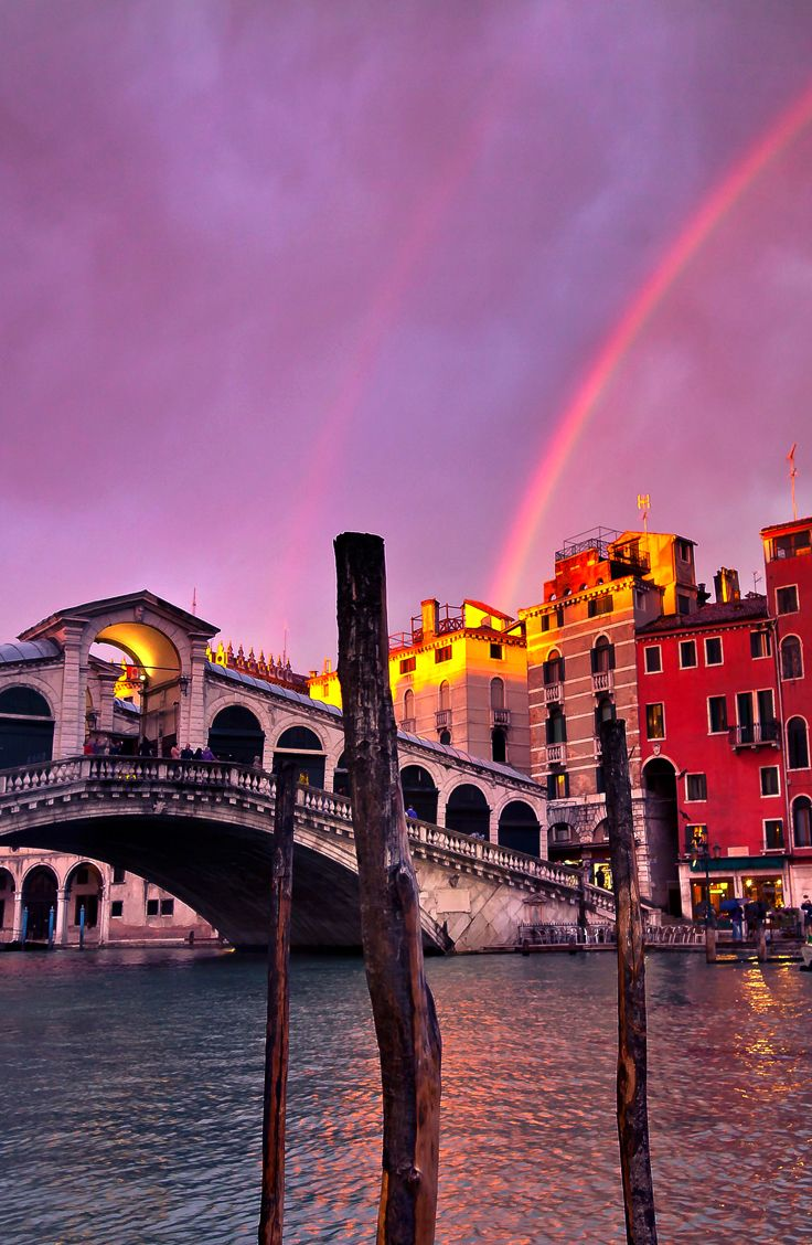 A magical night in Venice…
