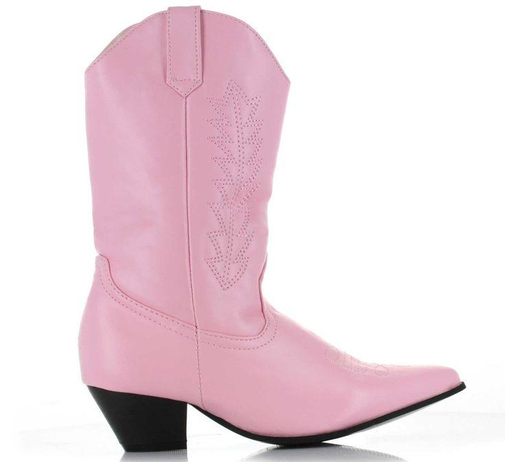 Cowboy Boots (Pink) Child from BirthdayExpress.com