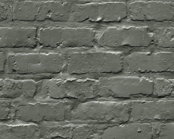 Ryan Wallcoverings Ltd - Black Brick Wallpaper A10401, €18.00 (http://www.ryanwallcoverings.com/black-brick-wallpaper-a10401/)