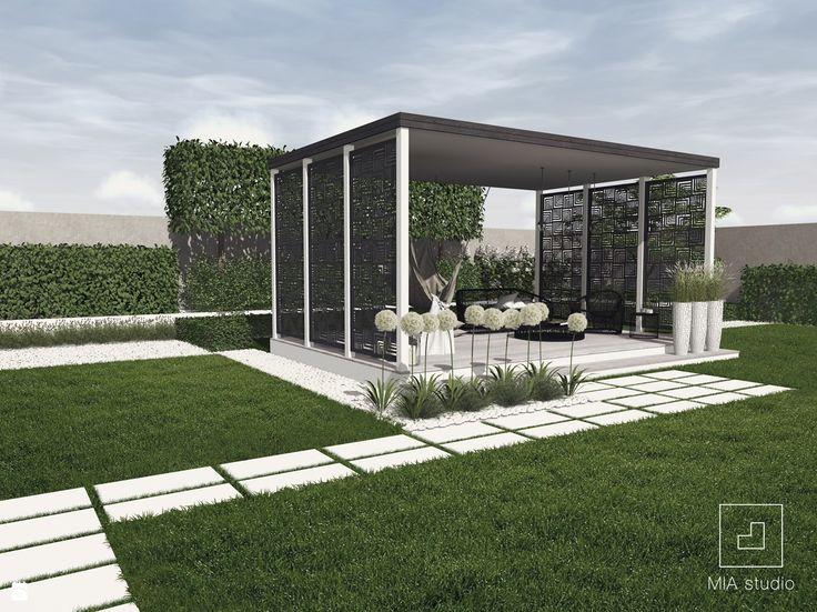 Nowoczesny ogród minimalistyczny - zdjęcie od MIA studio - Ogród - Styl Nowoczesny - MIA studio