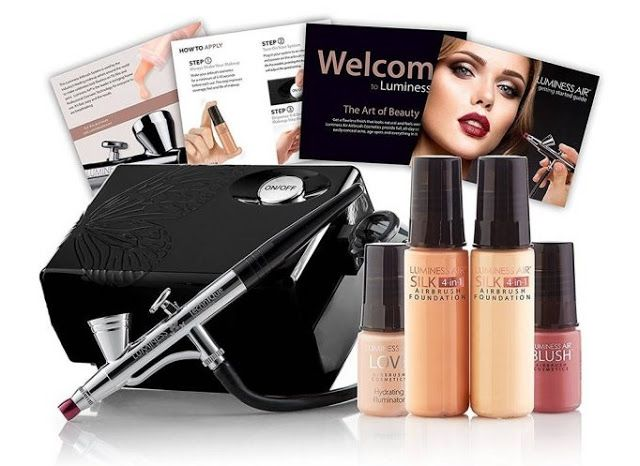 Luminess Airbrush Makeup Systems Exclusive Offers Every Week These Airbrush Foundations Airbrush Foundation Luminess Airbrush Makeup Airbrush Makeup System