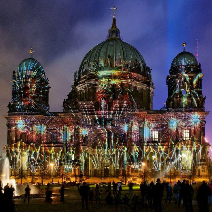 light festival images | Berliner Dom - Berlin Festival of Lights 2008 - Berlin light