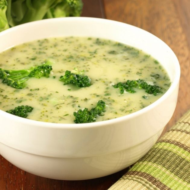 Skinny Points Recipes » 3 SmartPoints Cream of Broccoli Soup