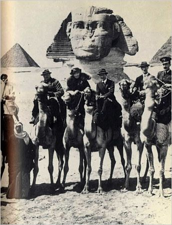 winston churchill, gertrude bell, t.e. lawrence - quite an assembly