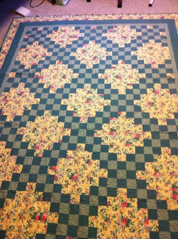 Looking for quilting project inspiration? Check out Double Irish Chain quilt by member Projectpam.