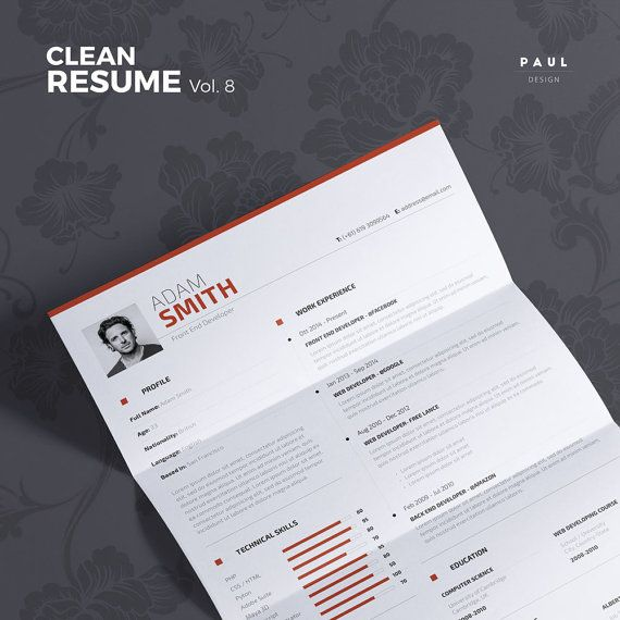Resume Template Microsoft Word 2007 Word  Best Ideas About Resume Creator On Pinterest  Resume Ideas  Recent College Graduate Resume Template with Resume Wizard Pdf Clean Resume Vol  Word And Indesign By Theresumecreator On Etsy  Lebenslauf  Brand Manager Resume Word
