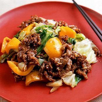 牛肉とキャベツのオイスターソース炒め | 平井淑子さんの炒めものの料理レシピ | プロの簡単料理レシピはレタスクラブニュース