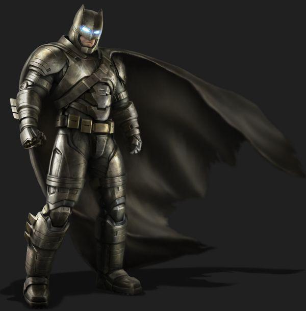 Veja as incríveis artes conceituais com o Homem-Morcego e Homem de Aço
