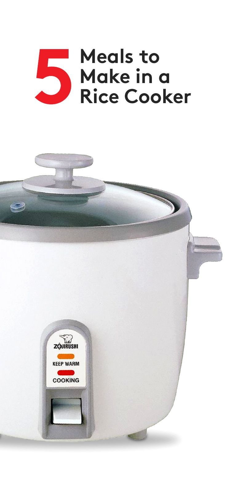 Your rice cooker has hidden talents--it can make breakfast, poach fruit, and even turn out risotto.