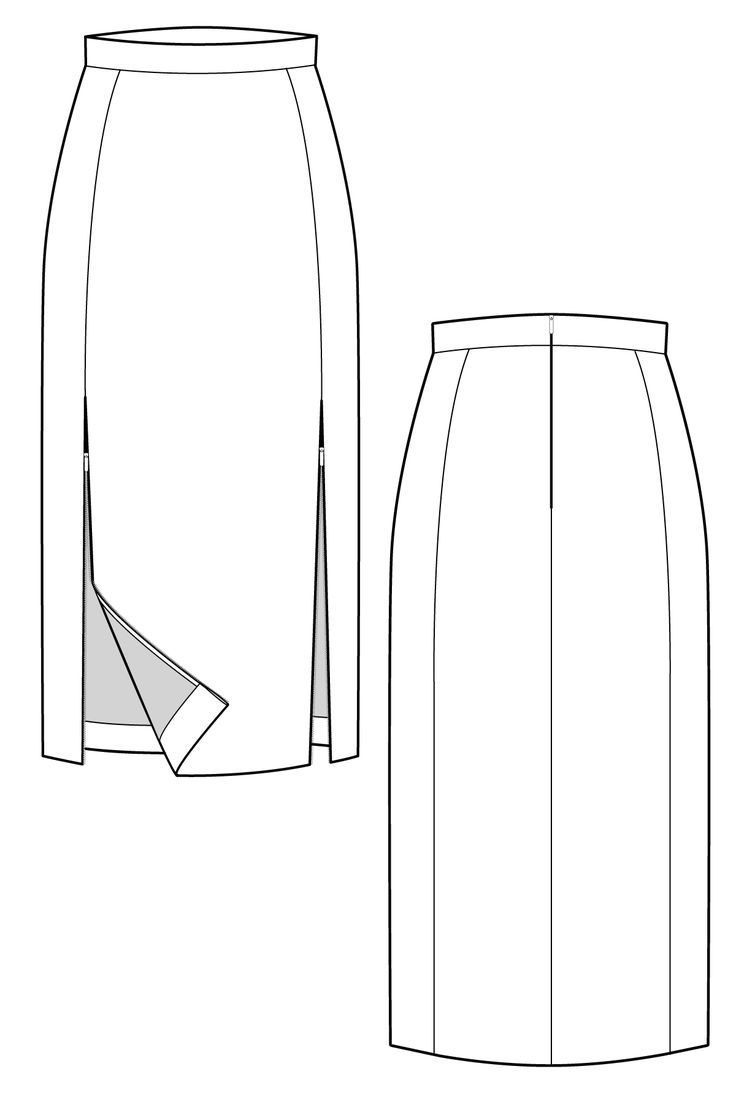 Tops fashion design sketches flat fashion sketch top 045 - Find This Pin And More On Apparel Design By Taciturnz