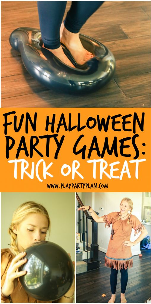 Accept. The Adult halloween party game shall afford