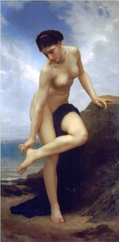 * William-Adolphe Bouguereau - - - After the bath - 1875 (031/006)