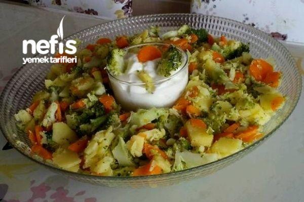 Nefis Brokolili Gün Salatası