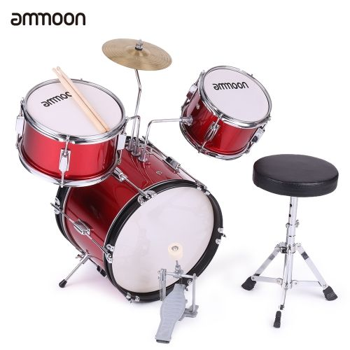 ammoon Kids Children Junior Drum Set Drums Kit Percussion Musical Instrument with Cymbal Drumsticks Adjustable Stool  sc 1 st  Pinterest & Best 25+ Junior drum set ideas on Pinterest | Drum set price 4 ... islam-shia.org