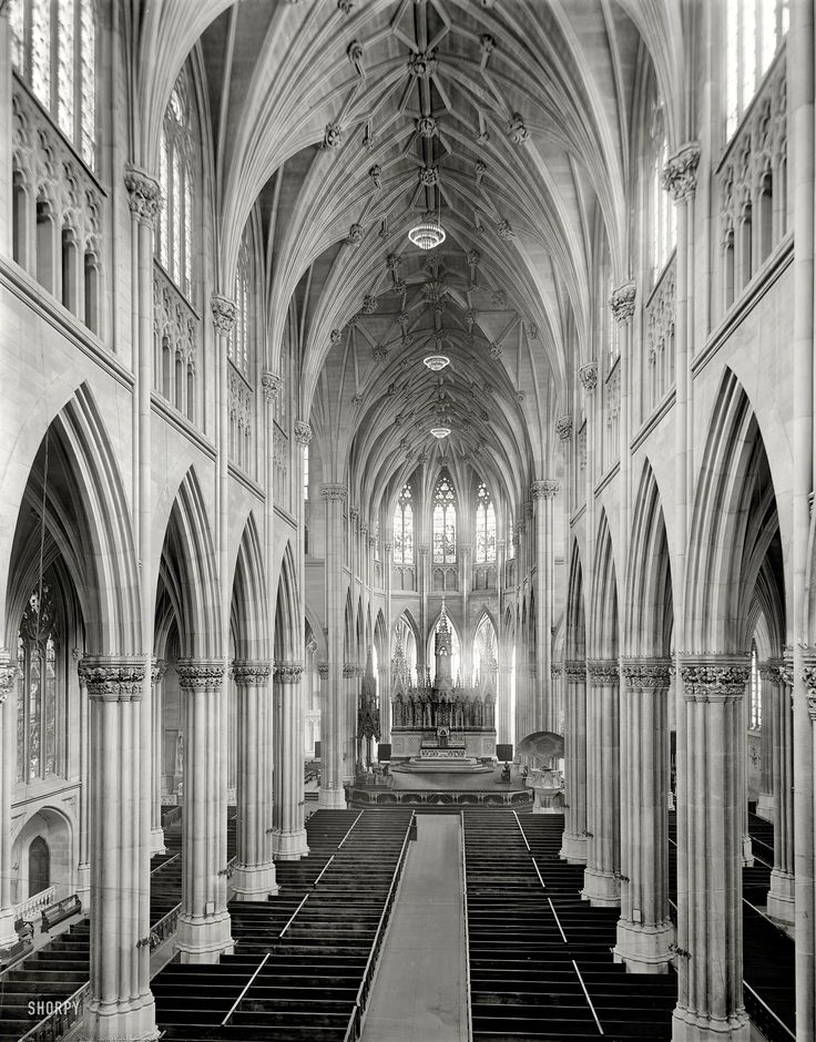Shorpy Historical Photo Archive :: St. Patrick's Cathedral: 1907