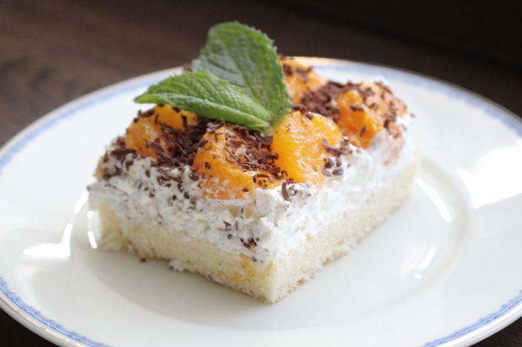 Mandarínkový retro rez