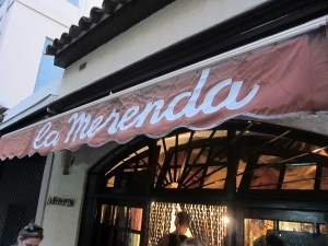 La merenda. Great restaurant in the centre of Nice.