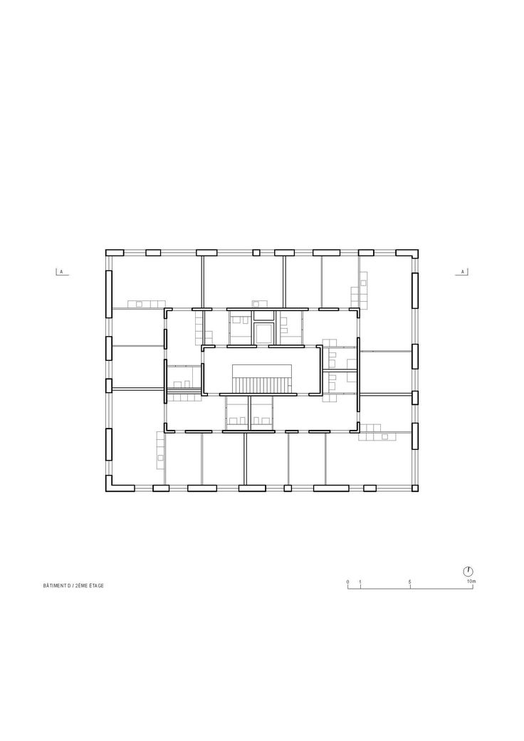 Image 6 of 9 from gallery of La Fontenette Social Housing / frundgallina. Floor Plan
