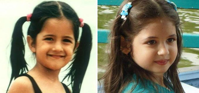 Katrina Kaif and Harshaali Malhotra