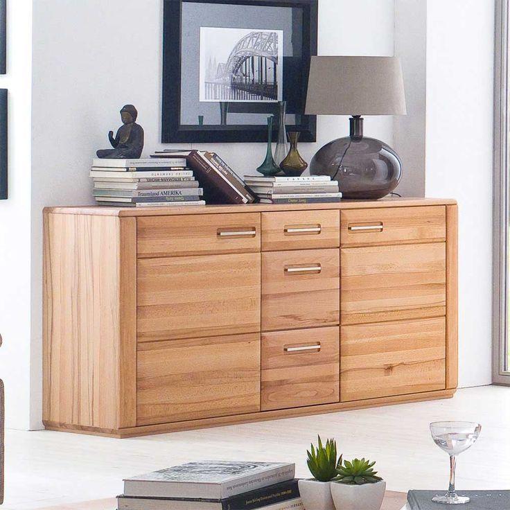 Die besten 25+ Sideboard kernbuche Ideen auf Pinterest Tv möbel - sideboard f r wohnzimmer