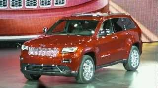 2014 Jeep Grand Cherokee Diesel Unveiling at Detroit Auto Show