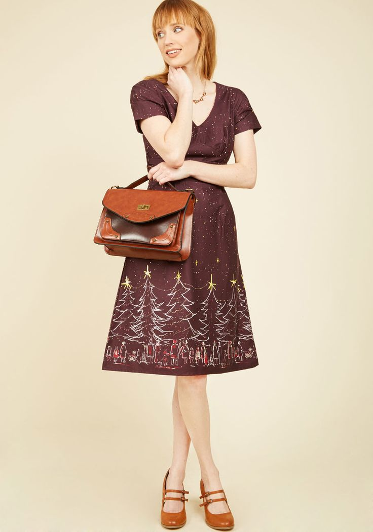 Not Just Good, Carry Good Bag. One might say that this cinnamon brown satchel is great, but you declare it better than the best! #brown #modcloth