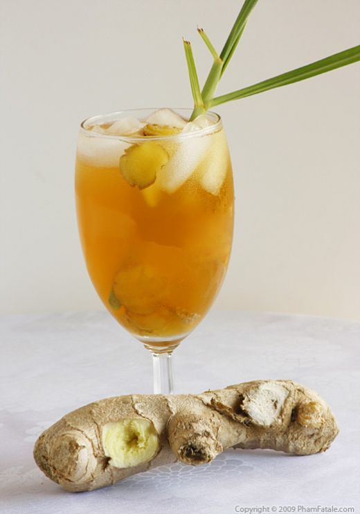 Ginger Lemongrass Drink