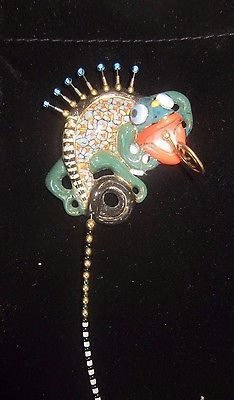 $139.99   Cynthia-Chuang-Jewelry-10-Handcrafted-Porcelain-Large-Lizard-Stick-Pin-Brooch