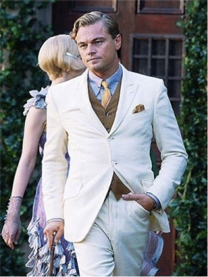 Leonardo DiCaprio looks so stylish in his upcoming movie The Great Gatsby.It's full of dazzling fashion visuals of the 1920s.