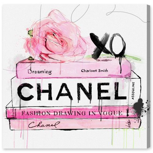 Found it at Joss & Main - Dripping Roses and Chanel Canvas Print, Oliver Gal