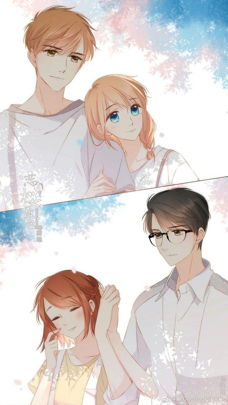 Pin oleh N'da poernama di Anime Couple Seni anime