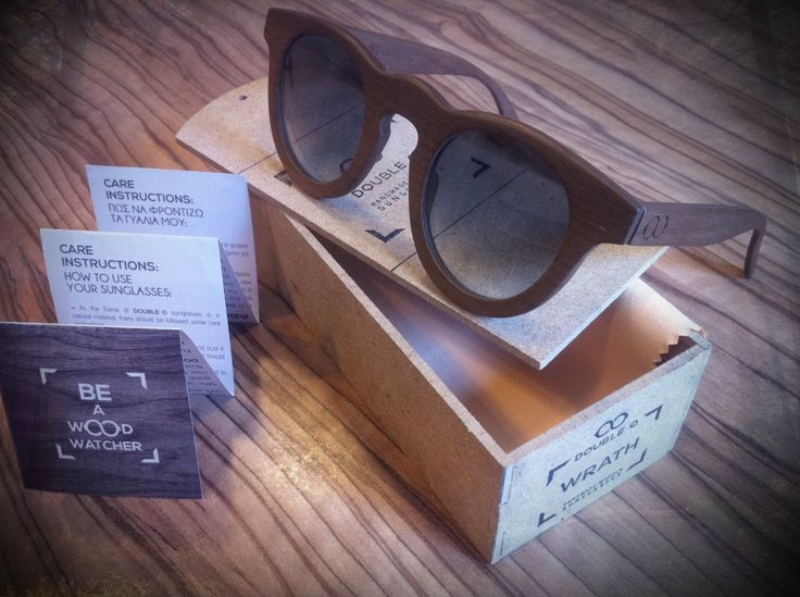 The finishing touches: each personalised pair of DOUBLE O wooden sunglasses is closely inspected by our specialists for quality purposes, before it's placed into its own hand-crafted DOUBLE O wooden box.