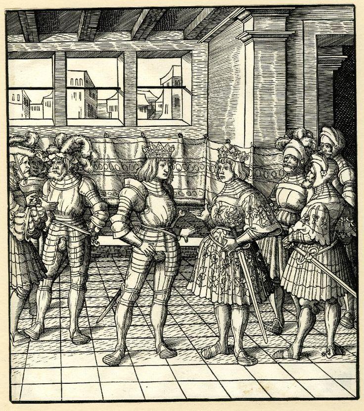Fabulous Artist Beck Leonhard Title Maximilian meeting Henry VIII Date ca