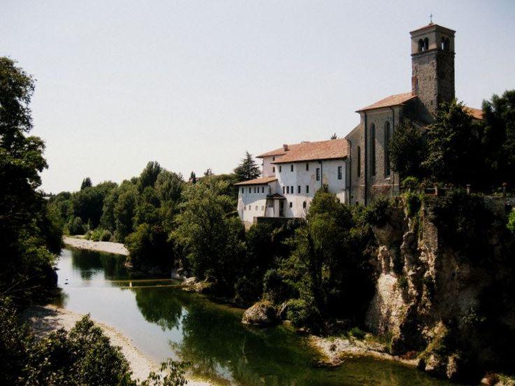 Devil's Bridge in Cividale del Fruili, Udine.