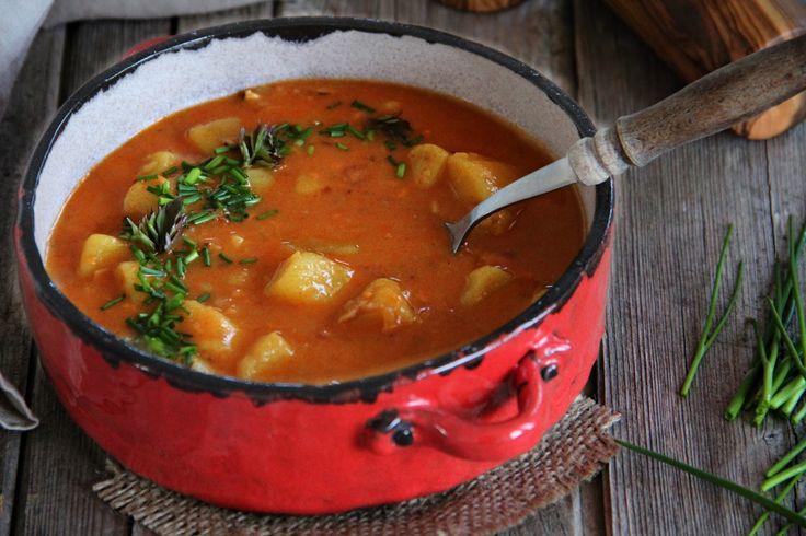 V kuchyni vždy otevřeno ...: Jemná bramborová polévka