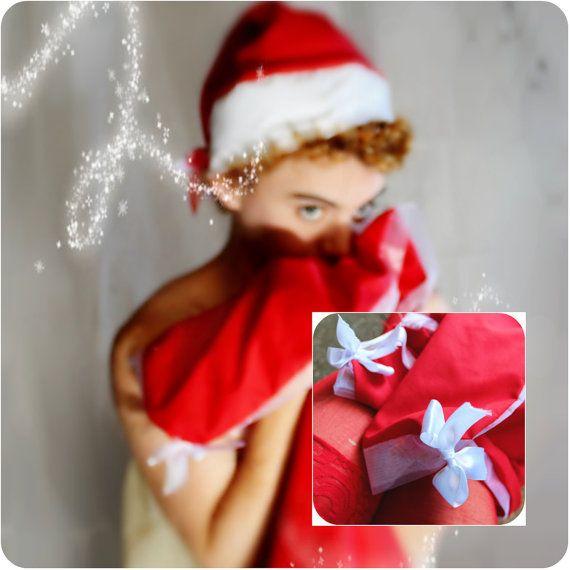 ON SALE Naughty Little Elf: Santa Hat & Small Blanket Pattern, Christmas Hat, Modesty Blanket, 12 Days of Christmas