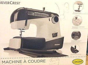 Silvercrest® Nähmaschine MIT 33 Stichfunktionen Dunkel Grau B Ware   eBay